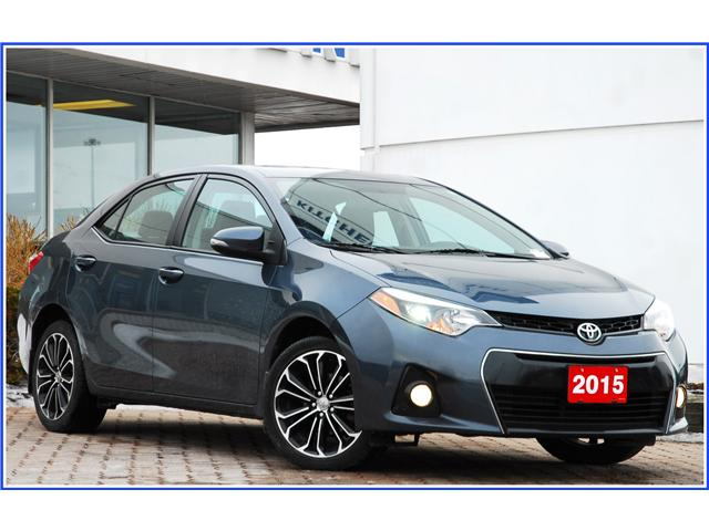 2015 Toyota Corolla S (Stk: 9F2380A) in Kitchener - Image 1 of 16