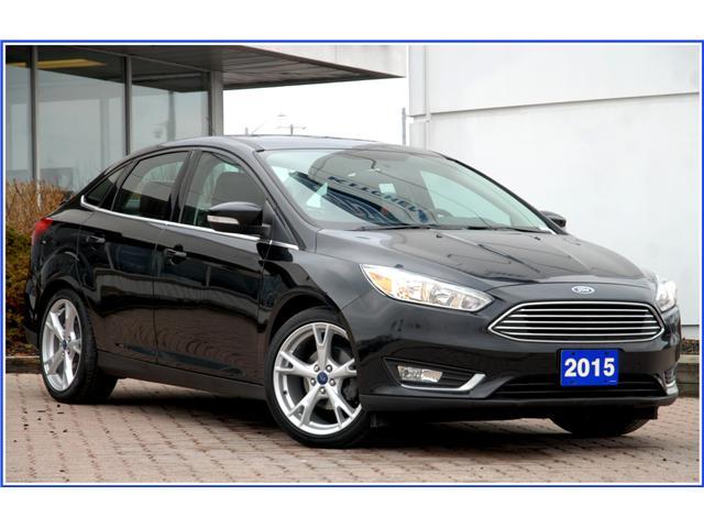 2015 Ford Focus Titanium (Stk: 9E3020AX) in Kitchener - Image 1 of 19