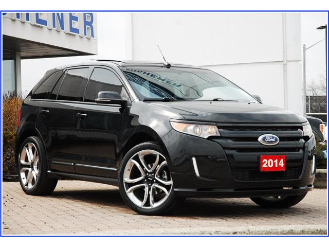 2014 Ford Edge Sport (Stk: 8C2850B) in Kitchener - Image 1 of 18