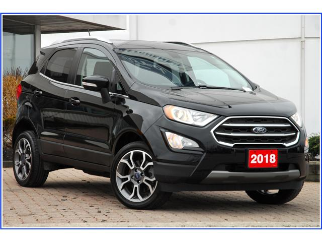 2018 Ford EcoSport Titanium (Stk: 8E8380A) in Kitchener - Image 1 of 19
