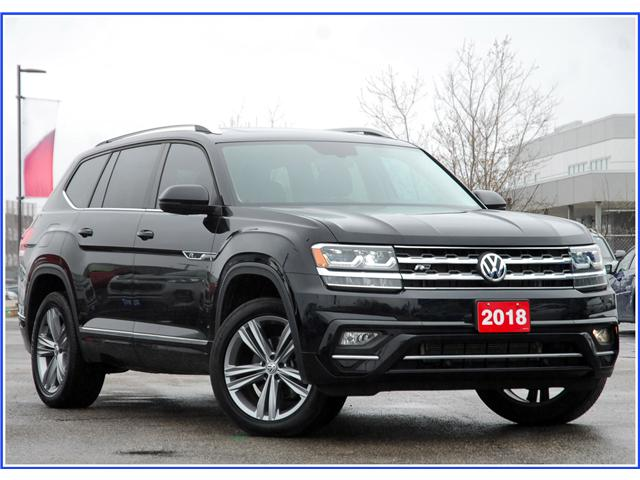2018 Volkswagen Atlas 3.6 FSI Highline (Stk: 9F4660A) in Kitchener - Image 1 of 21