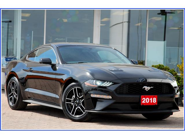 2018 Ford Mustang EcoBoost (Stk: D93740A) in Kitchener - Image 1 of 15