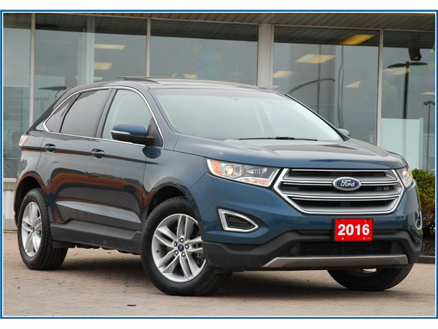 2016 Ford Edge SEL (Stk: 9F4200BX) in Kitchener - Image 1 of 18