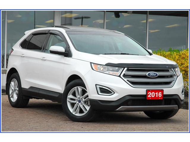 2016 Ford Edge Sel Sel Awd Sunroof Navi Leather At 26888 For Sale