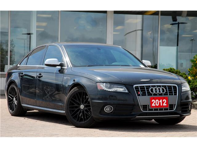 2012 Audi S4 3.0 Premium (Stk: 9P0480AX) in Kitchener - Image 1 of 4