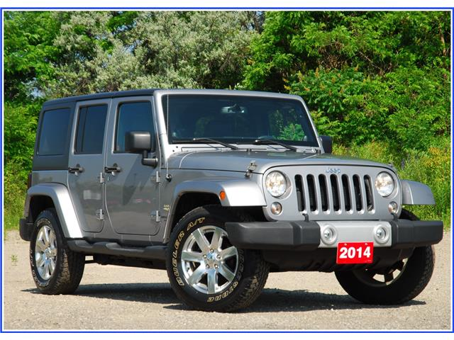 2014 Jeep Wrangler Unlimited Sahara (Stk: D94660AAX) in Kitchener - Image 1 of 18
