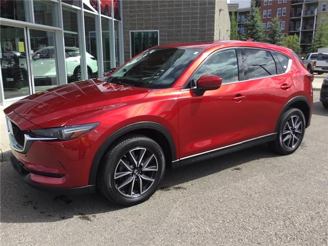 2018 Mazda CX-5 GT (Stk: N6029A) in Calgary - Image 1 of 18