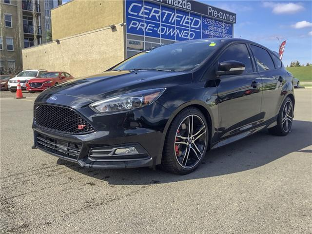 2016 Ford Focus ST Base (Stk: K7871) in Calgary - Image 1 of 18