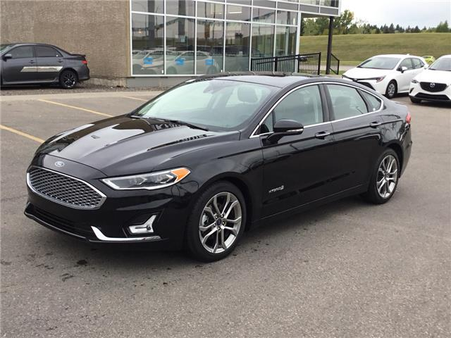 2019 Ford Fusion Hybrid Titanium (Stk: K7899) in Calgary - Image 1 of 24