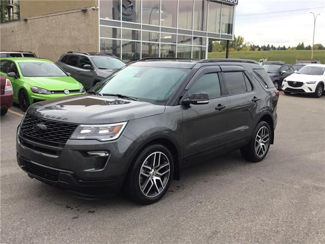 2018 Ford Explorer Sport (Stk: K7928) in Calgary - Image 1 of 26
