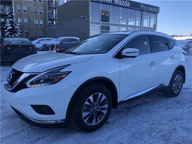 2018 Nissan Murano SL (Stk: N4466A) in Calgary - Image 1 of 17