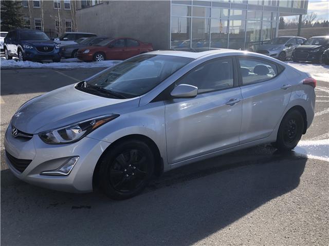 2014 Hyundai Elantra GLS (Stk: N5512A) in Calgary - Image 1 of 22