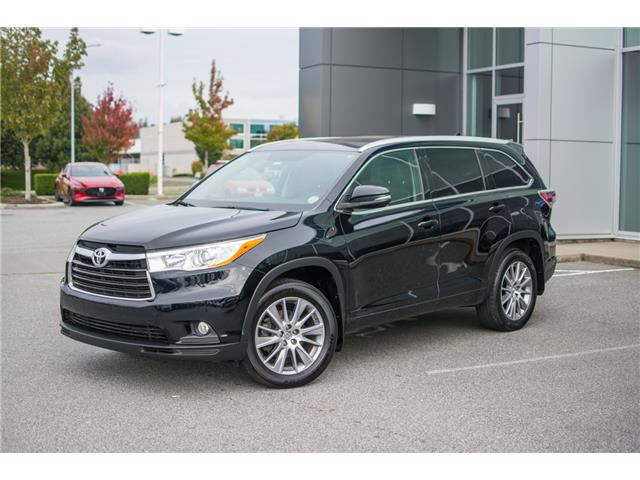 2015 Toyota Highlander XLE (Stk: B0357) in Chilliwack - Image 1 of 24
