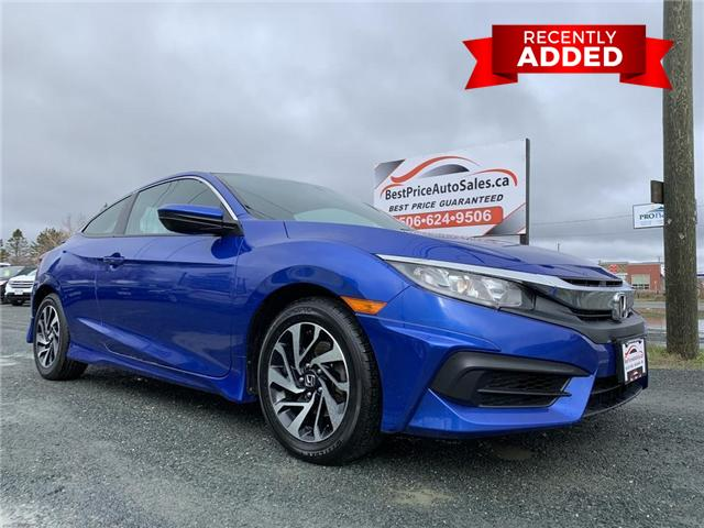 2016 Honda Civic LX (Stk: A2968) in Miramichi - Image 1 of 30