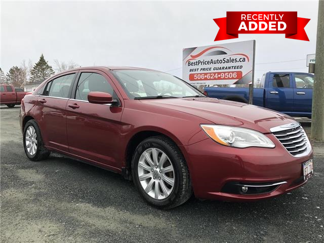 2013 Chrysler 200 Touring (Stk: A2903) in Miramichi - Image 1 of 28