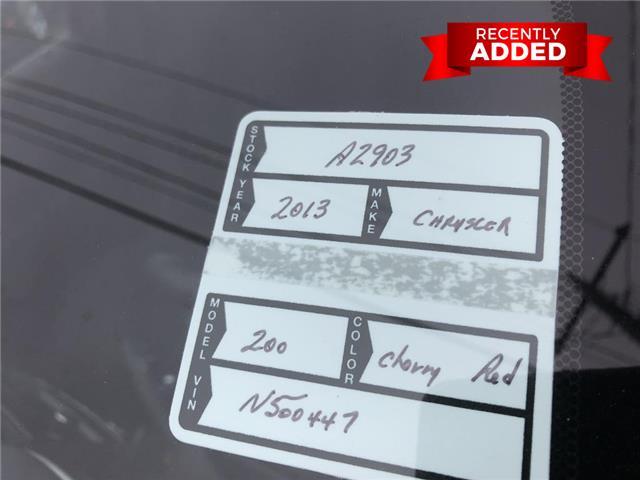 2013 Chrysler 200 Touring (Stk: A2903) in Miramichi - Image 18 of 28