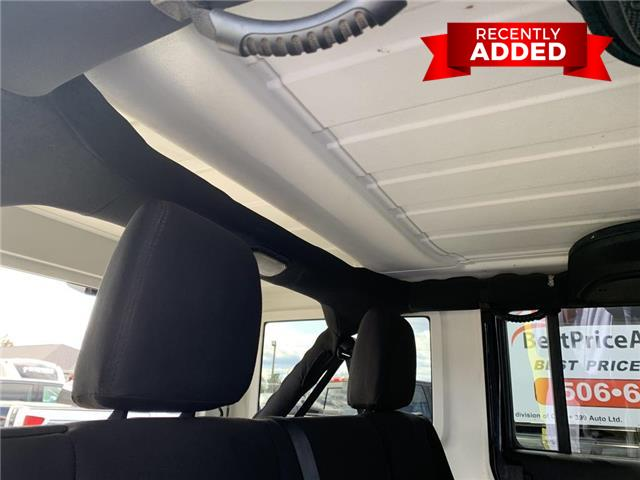 2015 Jeep Wrangler Unlimited Sport (Stk: A2970) in Miramichi - Image 26 of 30