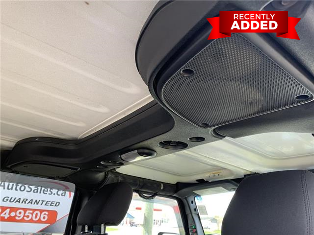 2015 Jeep Wrangler Unlimited Sport (Stk: A2970) in Miramichi - Image 27 of 30