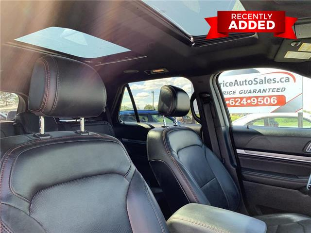 2016 Ford Explorer Sport (Stk: A2900) in Miramichi - Image 19 of 30