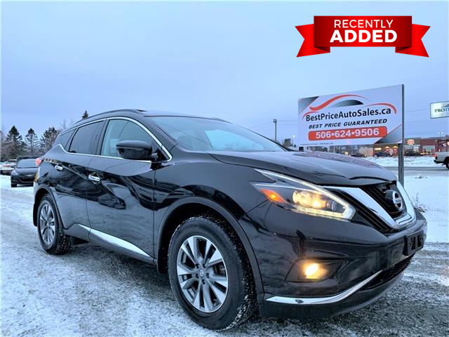 2018 Nissan Murano  (Stk: A3198) in Miramichi - Image 1 of 30