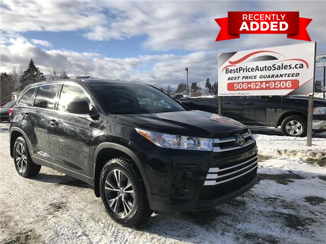 2019 Toyota Highlander  (Stk: A3205) in Miramichi - Image 1 of 24