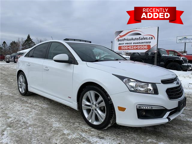2016 Chevrolet Cruze Limited 2LT (Stk: A3218) in Miramichi - Image 1 of 30