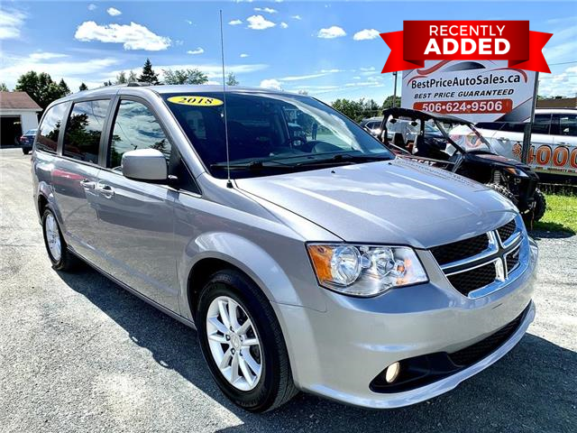 2018 Dodge Grand Caravan CVP/SXT (Stk: A3410) in Miramichi - Image 1 of 30