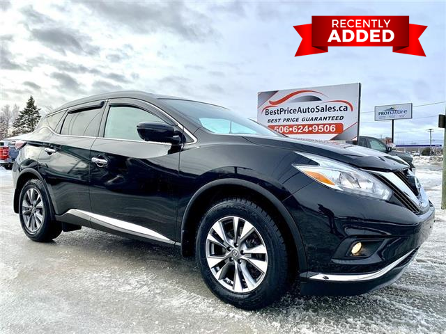 2016 Nissan Murano  (Stk: A3530) in Miramichi - Image 1 of 30