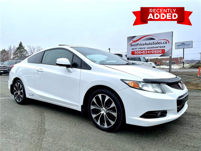 2013 Honda Civic Si (Stk: A3581) in Miramichi - Image 1 of 29
