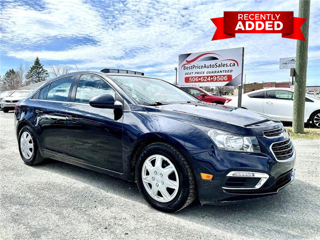 2016 Chevrolet Cruze Limited 1LT (Stk: A3561) in Miramichi - Image 1 of 29