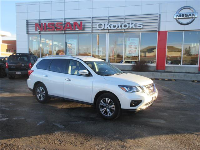 2018 Nissan Pathfinder SV Tech (Stk: 8225) in Okotoks - Image 1 of 27