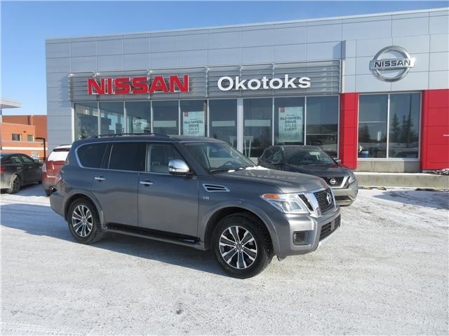 2018 Nissan Armada SL (Stk: 8493) in Okotoks - Image 1 of 30