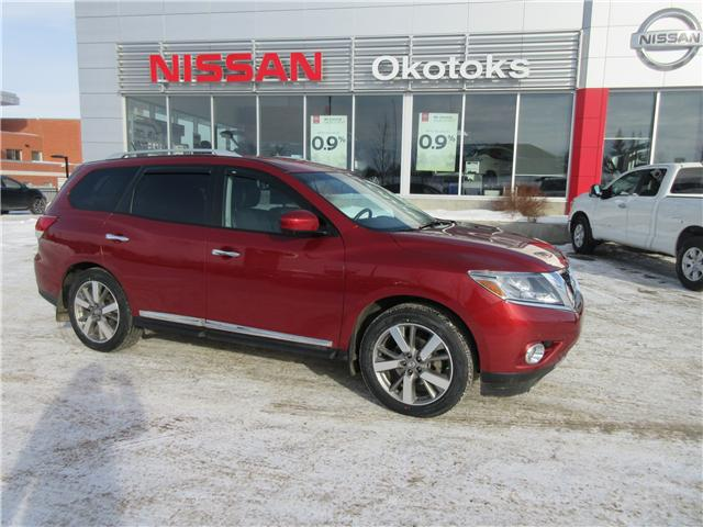 2014 Nissan Pathfinder Platinum (Stk: 8459) in Okotoks - Image 1 of 29