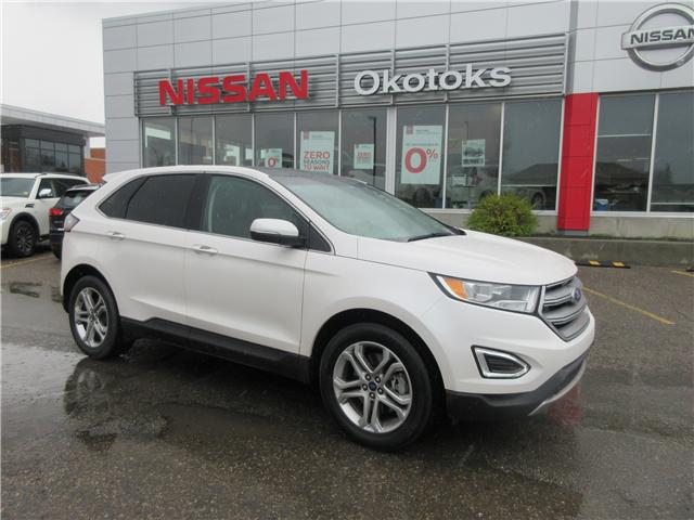 2017 Ford Edge Titanium (Stk: 9016) in Okotoks - Image 1 of 19