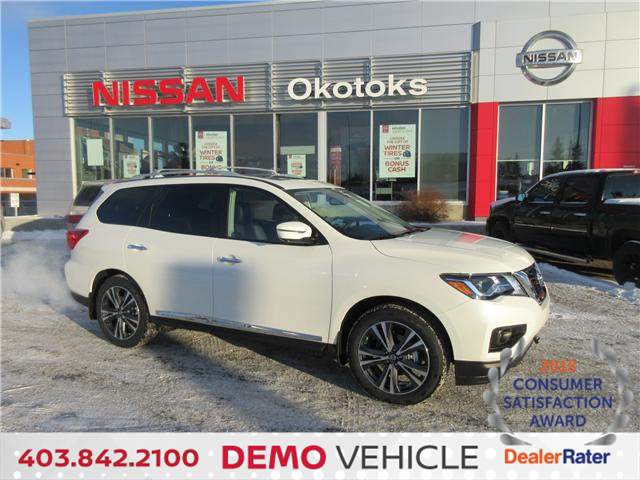 2019 Nissan Pathfinder Platinum (Stk: 8112) in Okotoks - Image 1 of 28