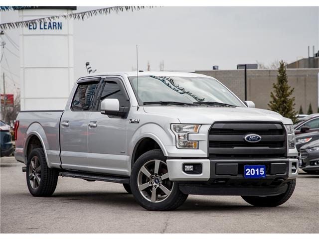 2015 Ford F-150 Lariat (Stk: 18F11445T) in  - Image 1 of 22