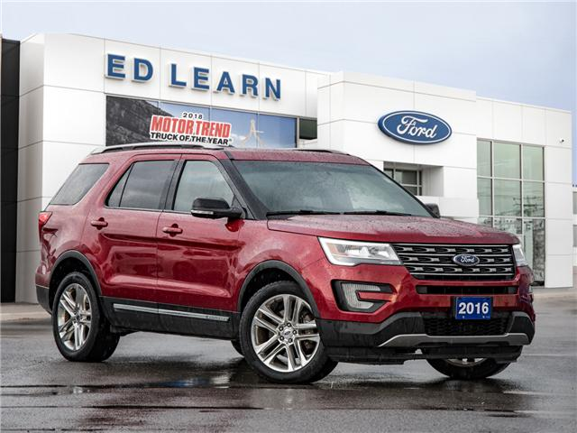 2016 Ford Explorer XLT (Stk: 602729) in  - Image 1 of 24
