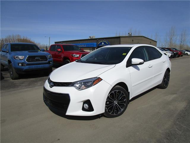 2016 Toyota Corolla S (Stk: 1892781) in Moose Jaw - Image 1 of 28