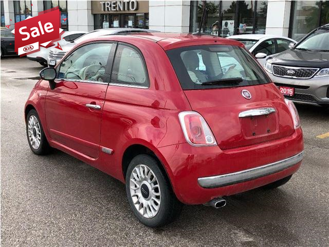 2012 Fiat 500 Lounge (Stk: 7622A) in North York - Image 3 of 18