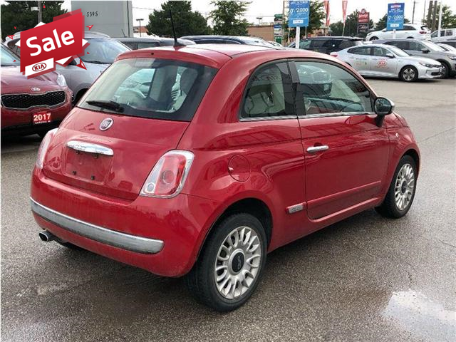 2012 Fiat 500 Lounge (Stk: 7622A) in North York - Image 5 of 18