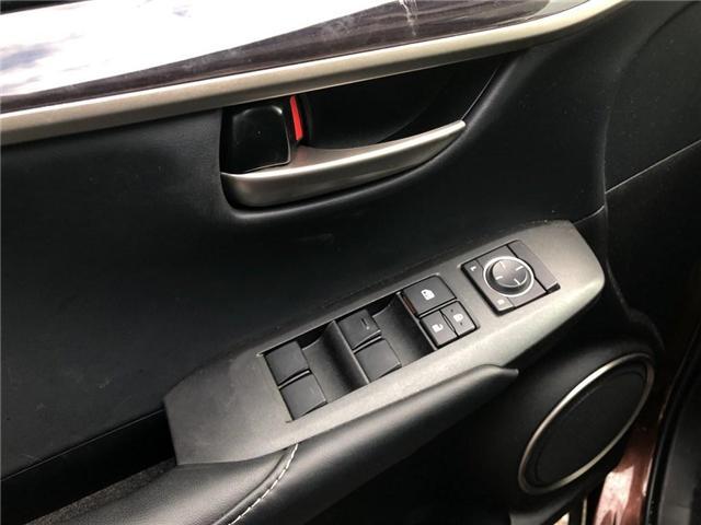 2016 Lexus NX 200t Base (Stk: 050190T) in Brampton - Image 13 of 22