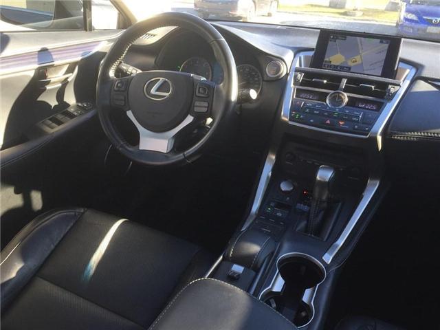 2016 Lexus NX 200t Base (Stk: 075849T) in Brampton - Image 11 of 12