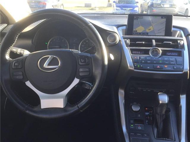 2016 Lexus NX 200t Base (Stk: 075849T) in Brampton - Image 12 of 12