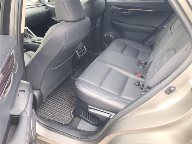 2017 Lexus NX 200t Base (Stk: 120878R) in Brampton - Image 12 of 22