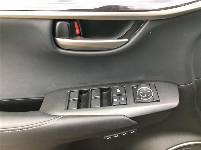 2017 Lexus NX 200t Base (Stk: 120878R) in Brampton - Image 13 of 22