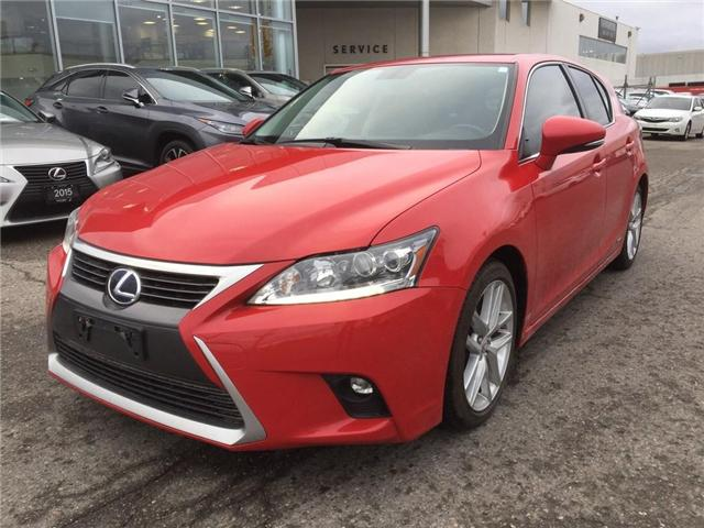 2016 Lexus CT 200h Base (Stk: 277327T) in Brampton - Image 1 of 11