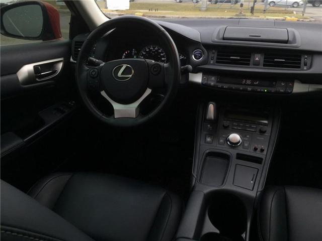 2016 Lexus CT 200h Base (Stk: 277327T) in Brampton - Image 10 of 11