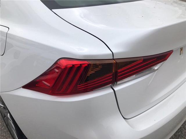 2017 Lexus IS 300 Base (Stk: 015436T) in Brampton - Image 11 of 22