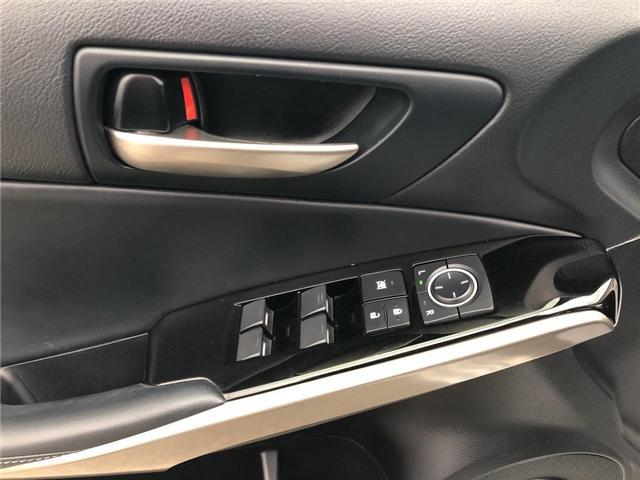 2017 Lexus IS 300 Base (Stk: 015436T) in Brampton - Image 13 of 22