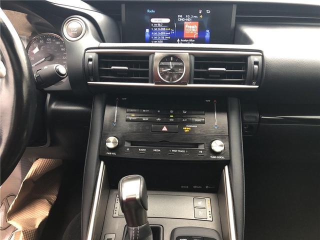 2017 Lexus IS 300 Base (Stk: 015436T) in Brampton - Image 17 of 22